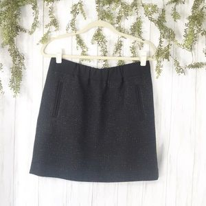 Loft Black Sparkle Thread Mini. Size M